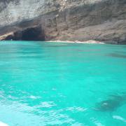 il mare dell'isola di Ponza