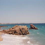 Cannes spiaggia