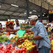 Martinica - mercato