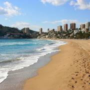 La spiaggia di Benidorm
